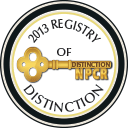 NPCR 2013 Registry of Distinction