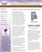 Alabama Newborn Screening Newsletter September 2013
