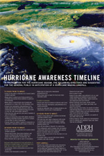 Hurricane Awareness Timeline Flyer - 2 MB