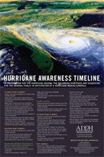 Hurricane Awareness Timeline Flyer - 2 MB